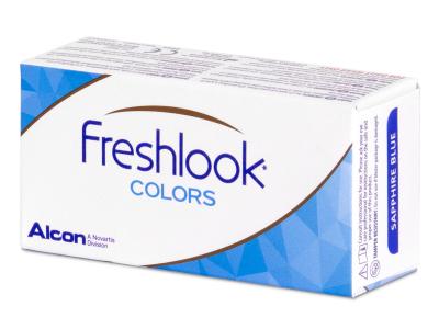 FreshLook Colors Blue - dioptrické (2 šošovky)