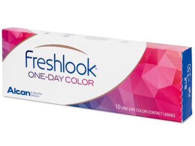FreshLook One Day Color Grey - dioptrické (10 šošoviek)