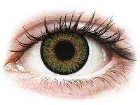 alensa.sk - Kontaktné šošovky - FreshLook One Day Color Green - dioptrické