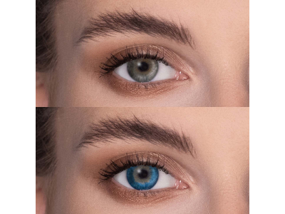 FreshLook Dimensions Pacific Blue - nedioptrické (2 šošovky)