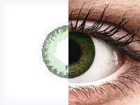 FreshLook Dimensions Sea Green - dioptrické (6 šošoviek)