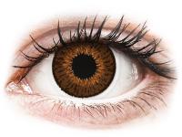 alensa.sk - Kontaktné šošovky - Expressions Colors Brown - dioptrické