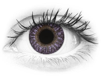 TopVue Color - Violet - nedioptrické (2 šošovky)
