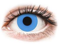 alensa.sk - Kontaktné šošovky - ColourVUE Crazy Lens - Sky Blue - jednodenné nedioptrické