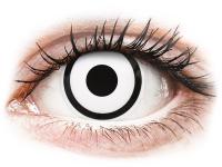 alensa.sk - Kontaktné šošovky - ColourVUE Crazy Lens - White Zombie - jednodenné nedioptrické