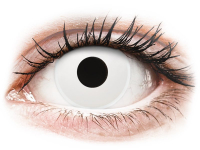 alensa.sk - Kontaktné šošovky - ColourVUE Crazy Lens - Whiteout - jednodenné nedioptrické