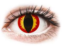 alensa.sk - Kontaktné šošovky - ColourVUE Crazy Lens - Dragon Eyes - jednodenné nedioptrické