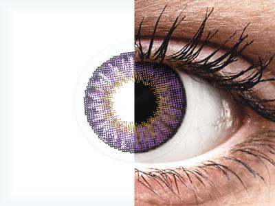 Air Optix Colors - Amethyst - nedioptrické (2 šošovky)