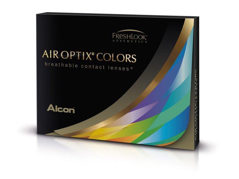 Air Optix Colors - nedioptrické (2 šošovky) farevné