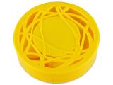 alensa.sk - Kontaktné šošovky - Kazeta s ornamentom - žltá