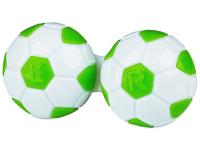 alensa.sk - Kontaktné šošovky - Puzdro na šošovky Futbal - zelené