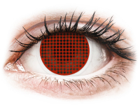 alensa.sk - Kontaktné šošovky - ColourVUE Crazy Lens - Red Screen - nedioptrické