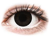 alensa.sk - Kontaktné šošovky - ColourVUE Crazy Lens - Black Screen - nedioptrické