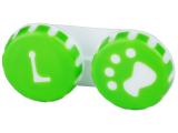 alensa.sk - Kontaktné šošovky - Puzdro na šošovky Labka - zelené