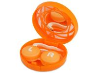 alensa.sk - Kontaktné šošovky - Kazeta s ornamentom - oranžová