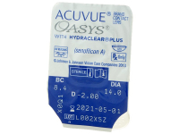 Acuvue Oasys (24 šošoviek)