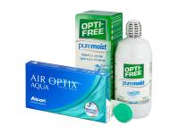 alensa.sk - Kontaktné šošovky - Air Optix Aqua (3 šošovky)