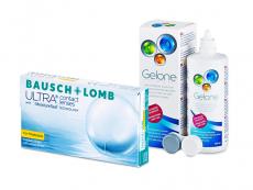 Bausch + Lomb ULTRA for Presbyopia (6 šošoviek) + roztok Gelone 360 ml