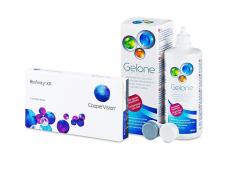 Biofinity XR (3 šošovky) + roztok Gelone 360 ml