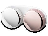 alensa.sk - Kontaktné šošovky - Zrkadlové puzdro na šošovky – ružové
