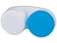 alensa.sk - Kontaktné šošovky - Puzdro na šošovky modro-biele L+R