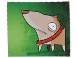 Čistiaca handrička na okuliare - pes