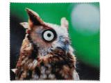 Čistiaca handrička na okuliare - sova