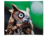 alensa.sk - Kontaktné šošovky - Čistiaca handrička na okuliare - sova