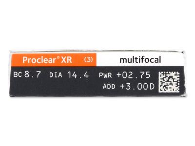Proclear Multifocal XR (6 šošoviek)