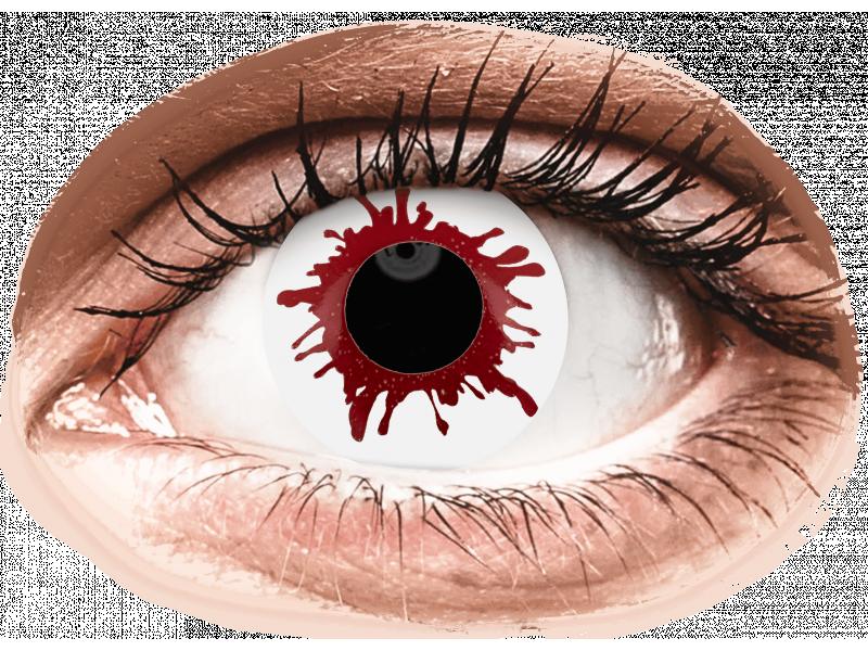 ColourVUE Crazy Lens - Wild Blood - jednodenné nedioptrické (2 šošovky)