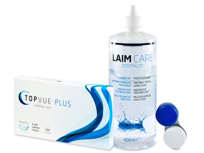 TopVue Plus (6 šošoviek) + Laim-Care 400 ml
