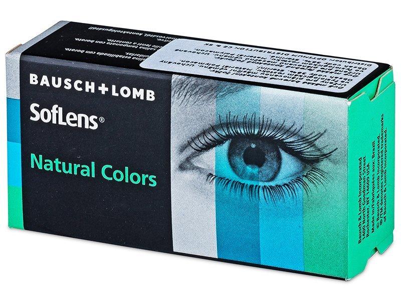 SofLens Natural Colors - nedioptrické (2 šošovky)