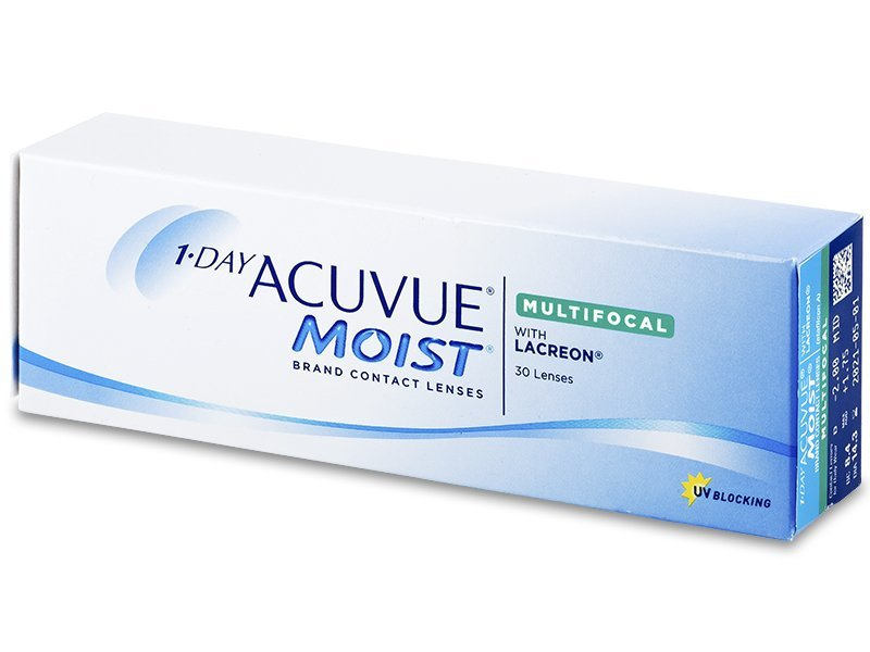 1 Day Acuvue Moist Multifocal (30 šošoviek)