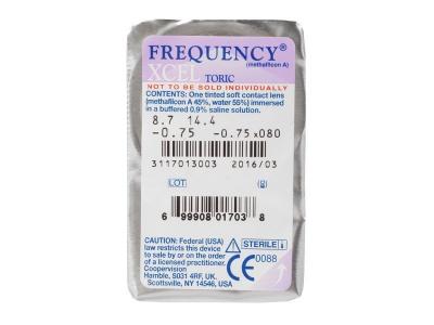 FREQUENCY XCEL TORIC (3šošovky)