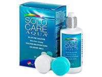 alensa.sk - Kontaktné šošovky - Roztok SoloCare Aqua 90 ml s puzdrom
