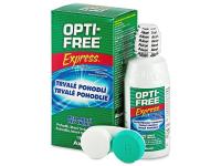 alensa.sk - Kontaktné šošovky - Roztok OPTI-FREE Express 120 ml s puzdrom