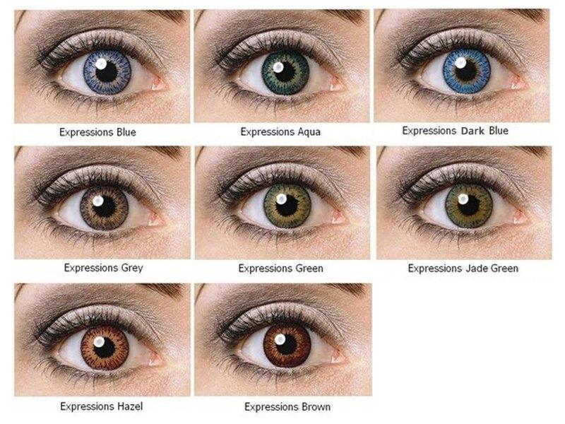 1207c1e5a Nedioptrické farebné šošovky Expressions Colors   Alensa SK