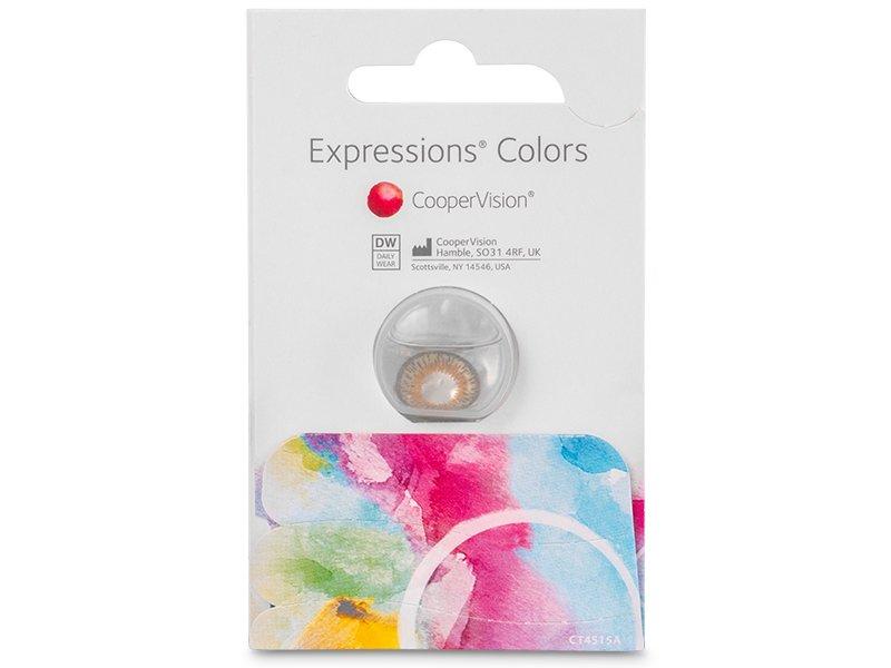 Expressions Colors – nedioptrické (1 šošovka)